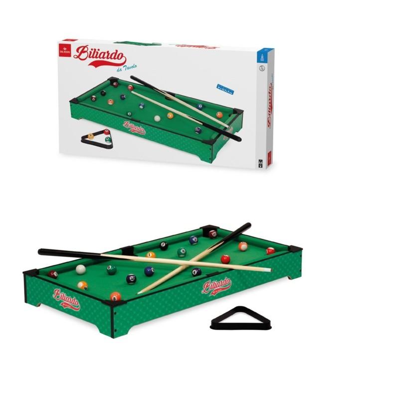 Giochi Da Tavolo Societa Fastworldshopping Biliardo Da Tavolo Carambola Con Stecche Palline Triangolo Biliardino In Legno