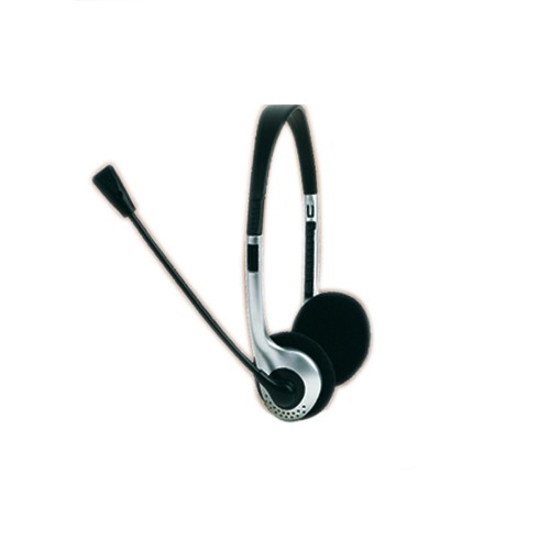 ... CUFFIA STEREO CON MICROFONO VOLUME REGOLABILE CUFFIE PC NOTEBOOK SKYPE  MSN CHAT ... 14df1a8ee819