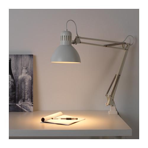 Lampada da tavolo scrivania Tertial IKEA colore Bianco Design ...