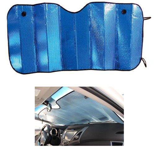 Parasole Per Parabrezza,Parasole Parabrezza Auto Anteriore Protezione Dai Raggi UV Pieghevole Parasole Universale Auto Riflettente Copricruscotto Auto Parasole 150 X 70 CM
