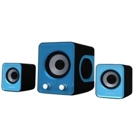 CASSE SPEAKER USB 2.1 ALTOPARLANTI HOME THEATRE HI-FI SYSTEM PC NOTEBOOK