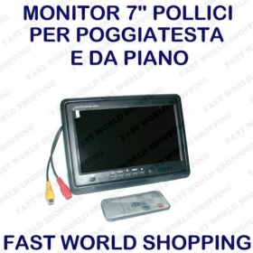 MONITOR TFT LCD A COLORI 7&quo
